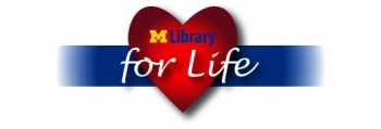 MLibrary for Life Logo
