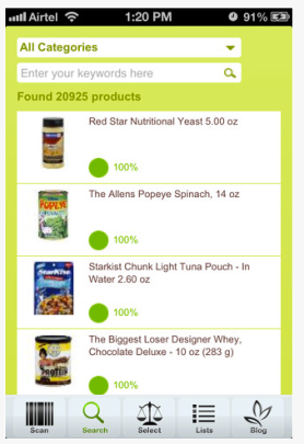 Foodsmart screenshot