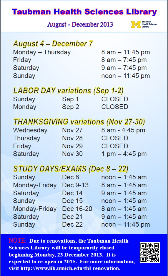 THL fall hours