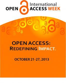 International Open Access Week 2013 Poster