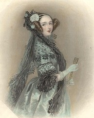Ada Lovelace by Nefi from Flickr  (CC BY-NC-SA 2.0)