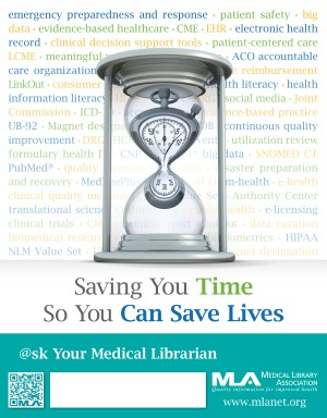 National Medical Librarians Month Poster 2013 from www.mlanet.org