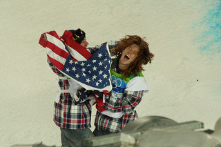 Shaun White and Scotty Lago