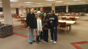 Taubman Library Closing Crew