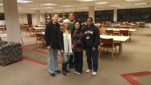 Taubman Library Closing Crew