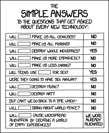 xkcd: Simple Answers