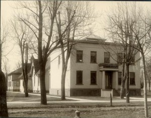 This building on North University Ave. was home to the School of Dentistry and the Homeopathic Medical College 1875 - 1877.