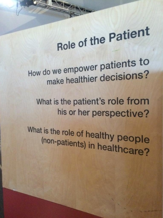 Role of the patient: How do we empower patients to make healthier decisions? What is the patient's role from his or her perspective? What is the role of healthy people (non-patients) in healthcare?